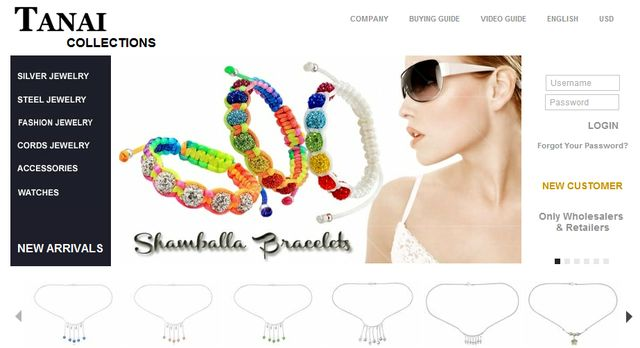 Beaded Jewelry - Shamballa Bracelet from Tanai.com