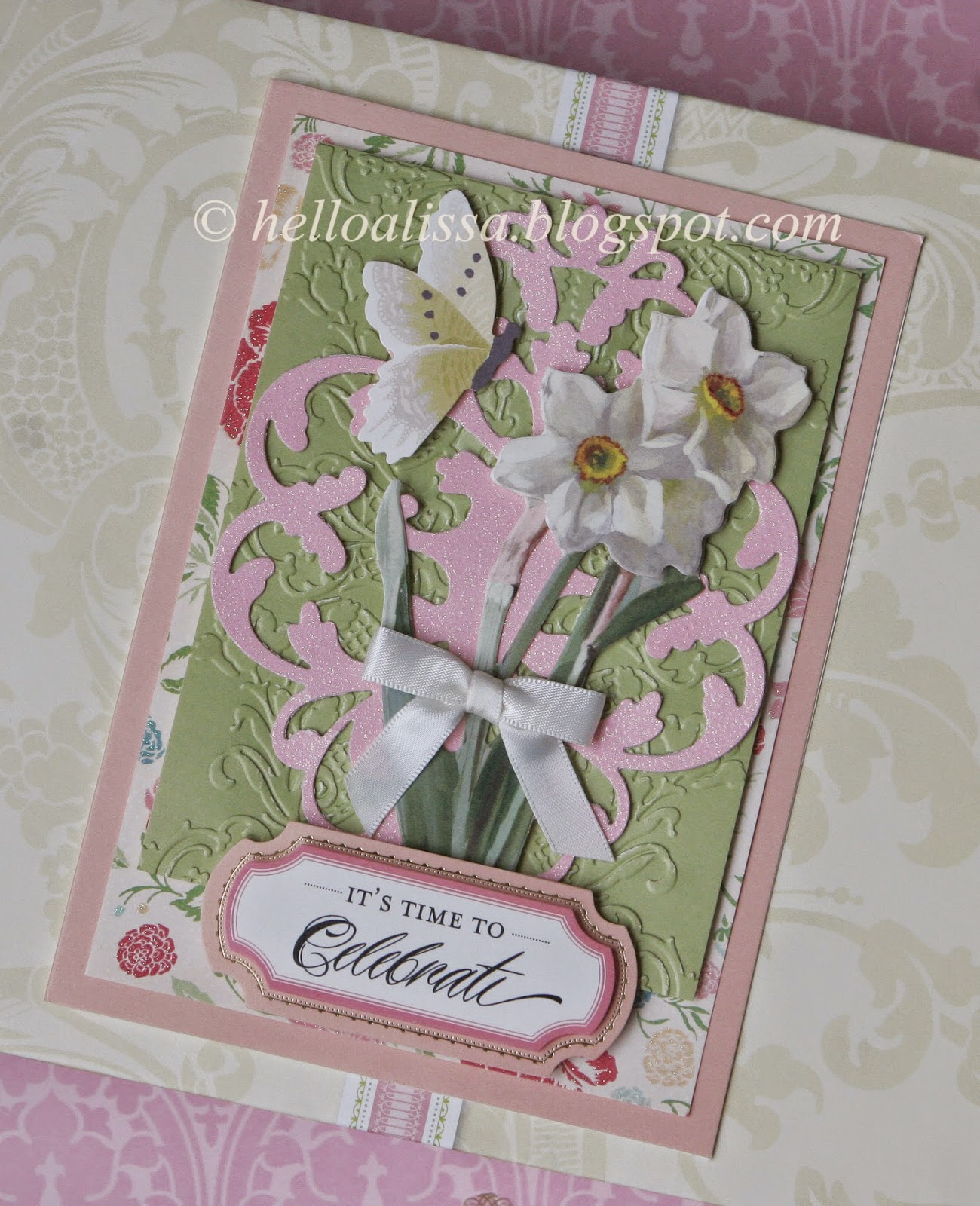 Helloalissa Anna Griffin Garden Window Card Making Kit
