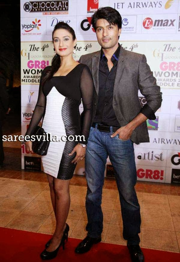 Rati Pandey and Anas Rashid at 4th Gadoya Holdings Gr8! Women Awards