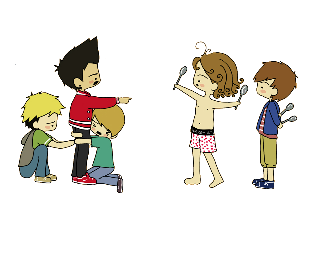 One Direction Caricaturas PACK PNG | Cosas Para Tus Blend