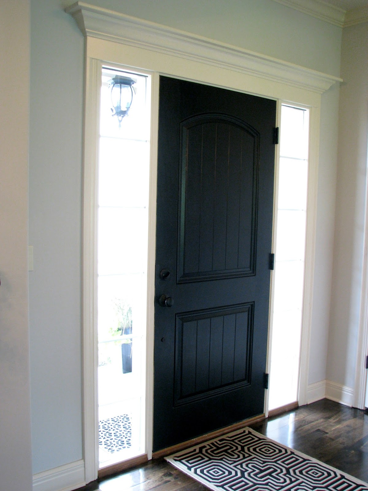 Life love larson black interior front door - Sophisticated black interior doors ...