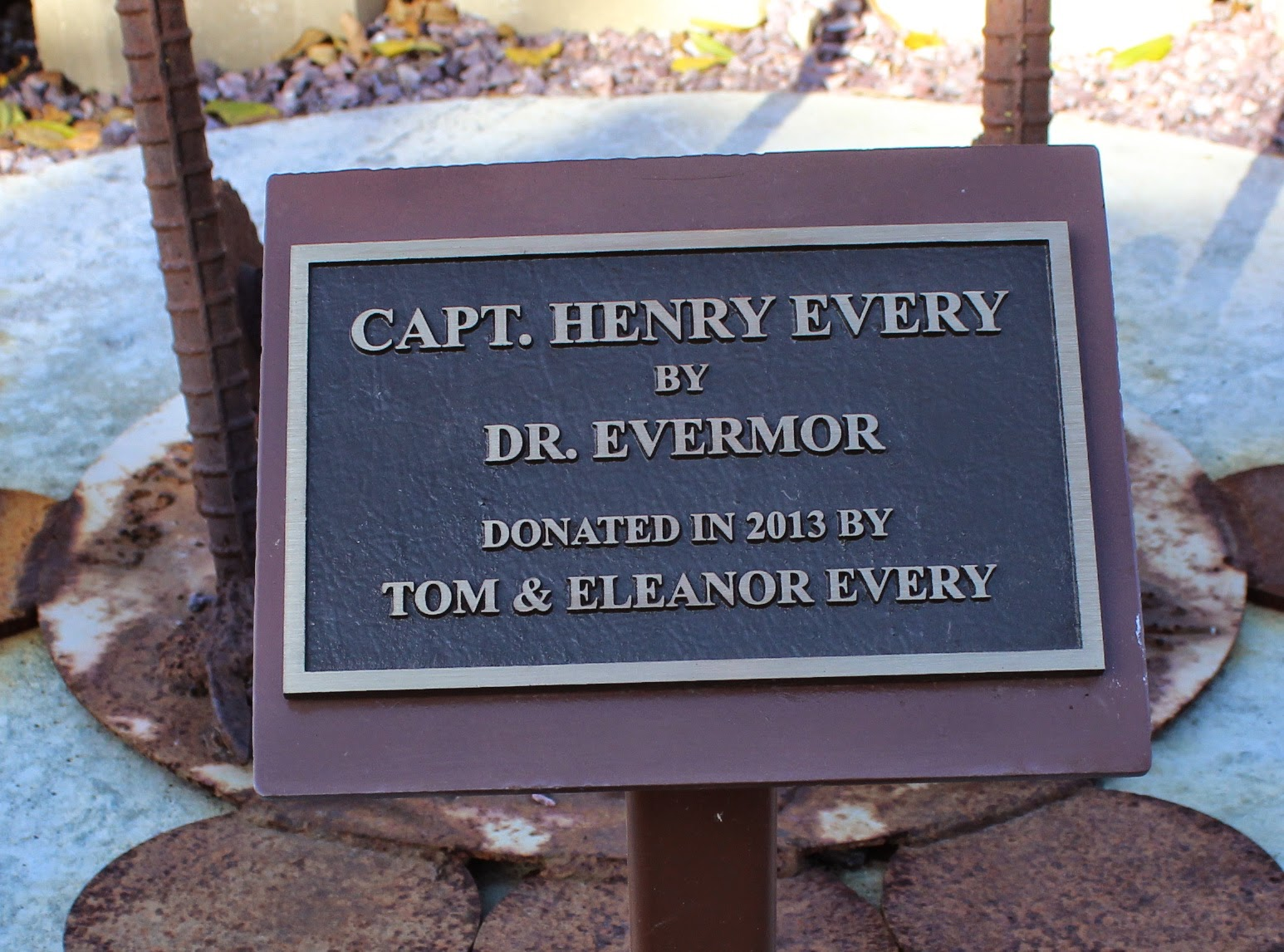 Wisconsin Historical Markers Capt Henry Every By Dr Evermor