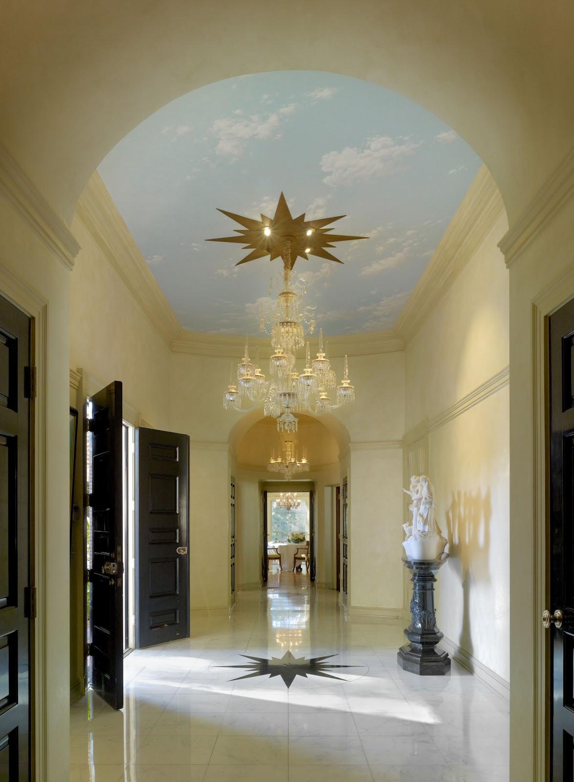 Foyer House St Paul : Cinema style classic hollywood