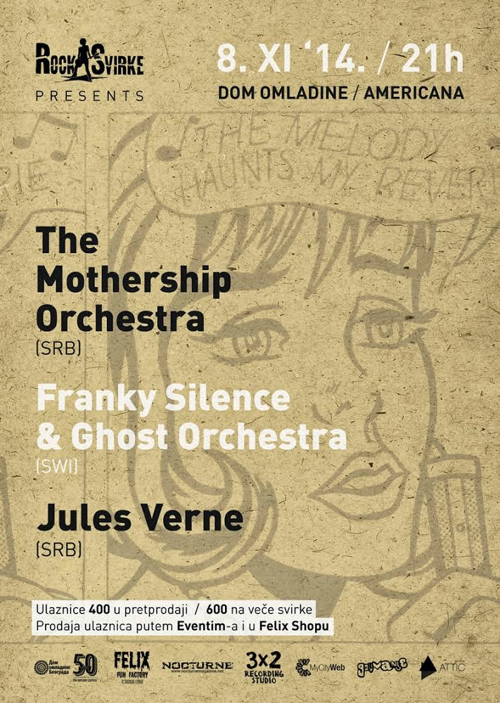 The Mothership Orchestra i gosti u DOB-u