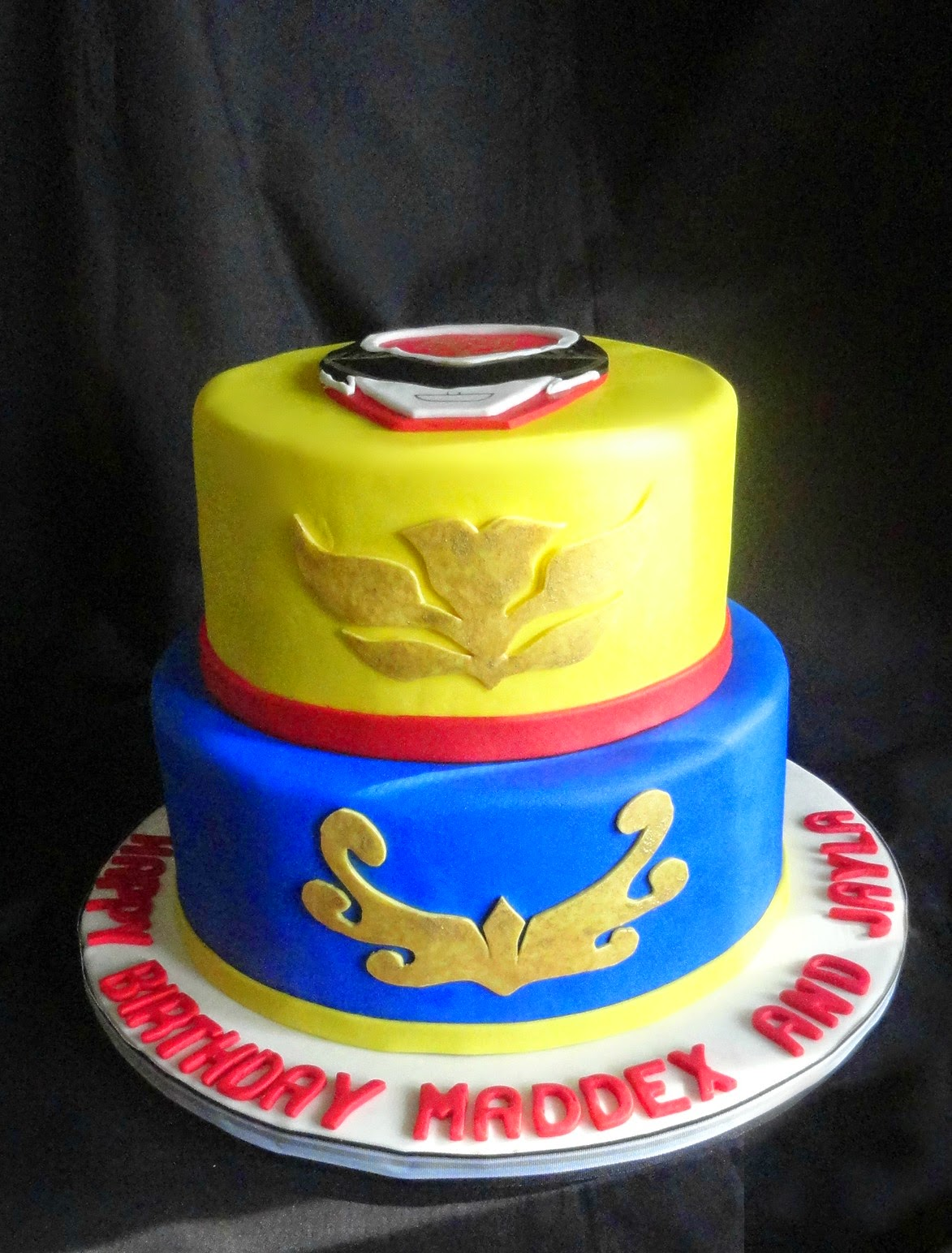 Power Ranger Cake Recipe