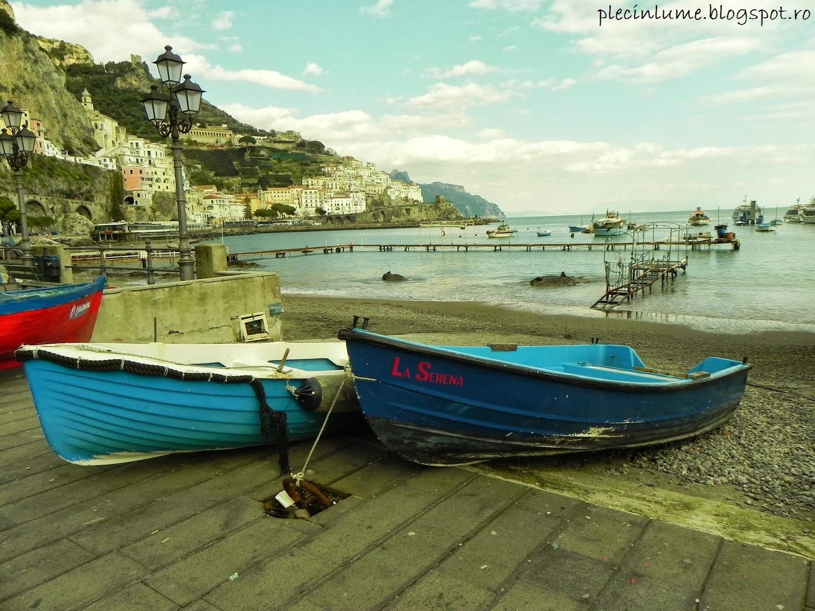 Priveliste din Amalfi