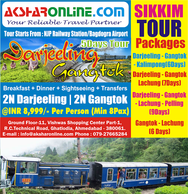 Sikkim Tour Packages - Darjeeeling Tour, Gangtok Tour, Lachung Tours, Yumthang Tours and More aksharonline.com