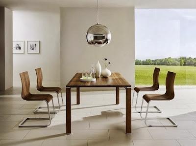 Bentuk Ruang Makan Minimalis 2014