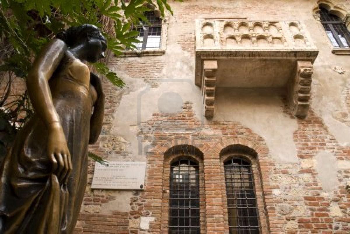 La casa de Julieta en Verona, Italia