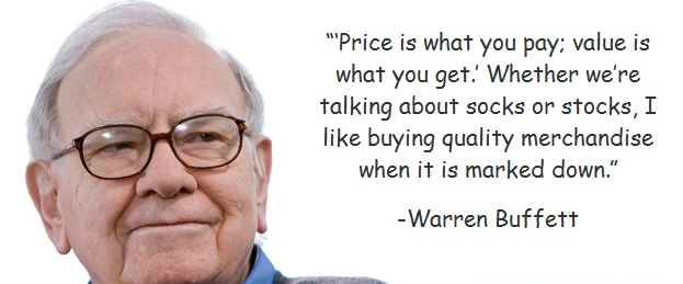 Best quote of  Warren Buffett