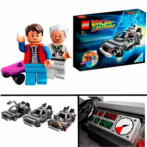 Lego DeLorean. Regreso al Futuro