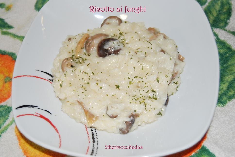 2thermocu adas risotto ai funghi con setas - Risoto con setas ...
