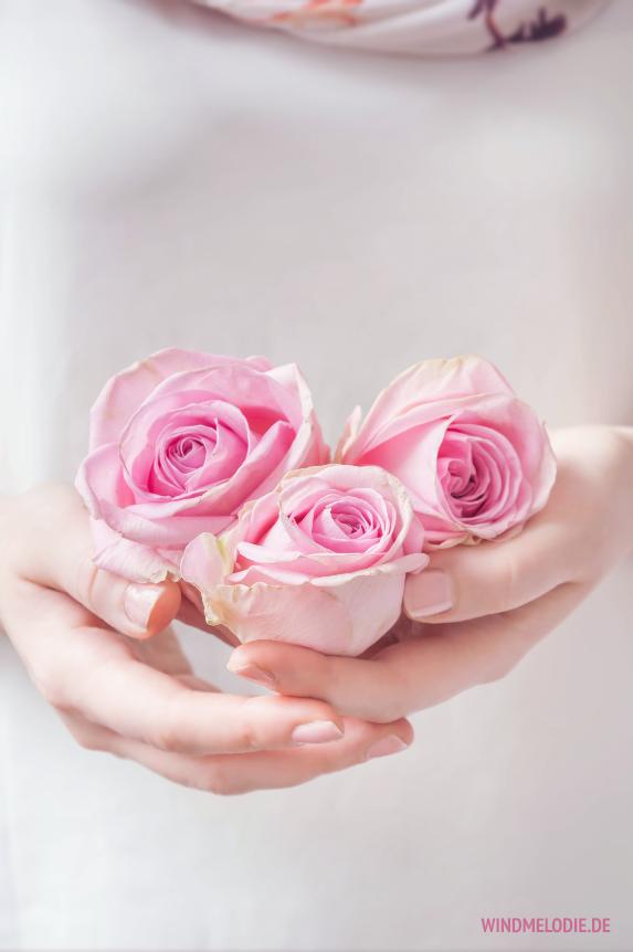 Vintage Rosa Rosen