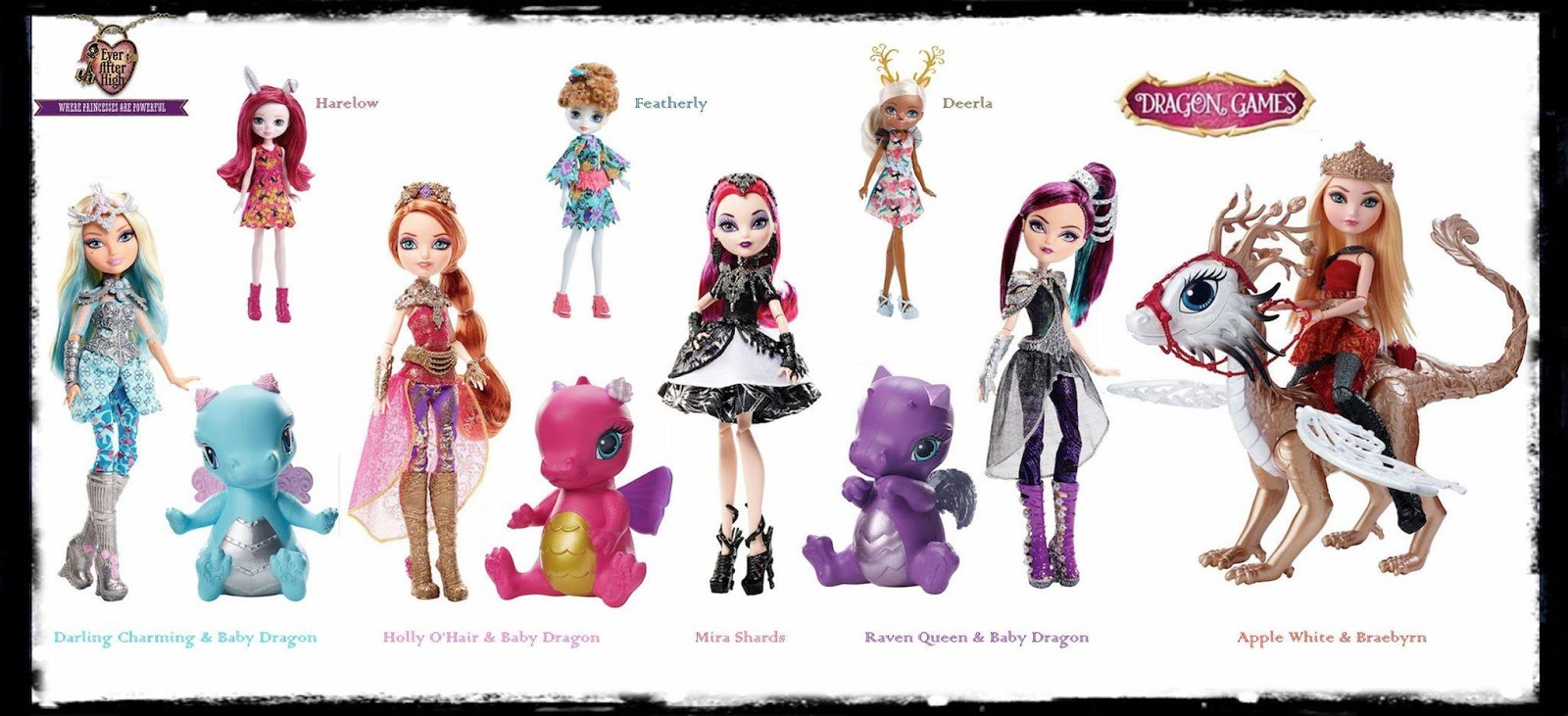 Ever After High's Dragon Games! | NataliezWorld