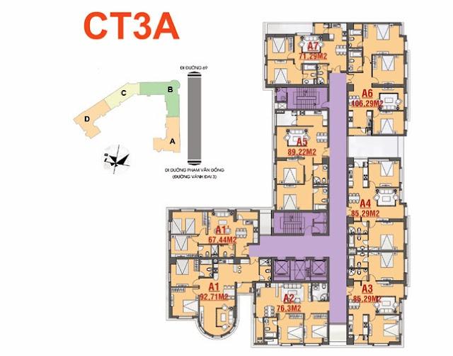 Thiết kế CT3A Cổ Nhuế