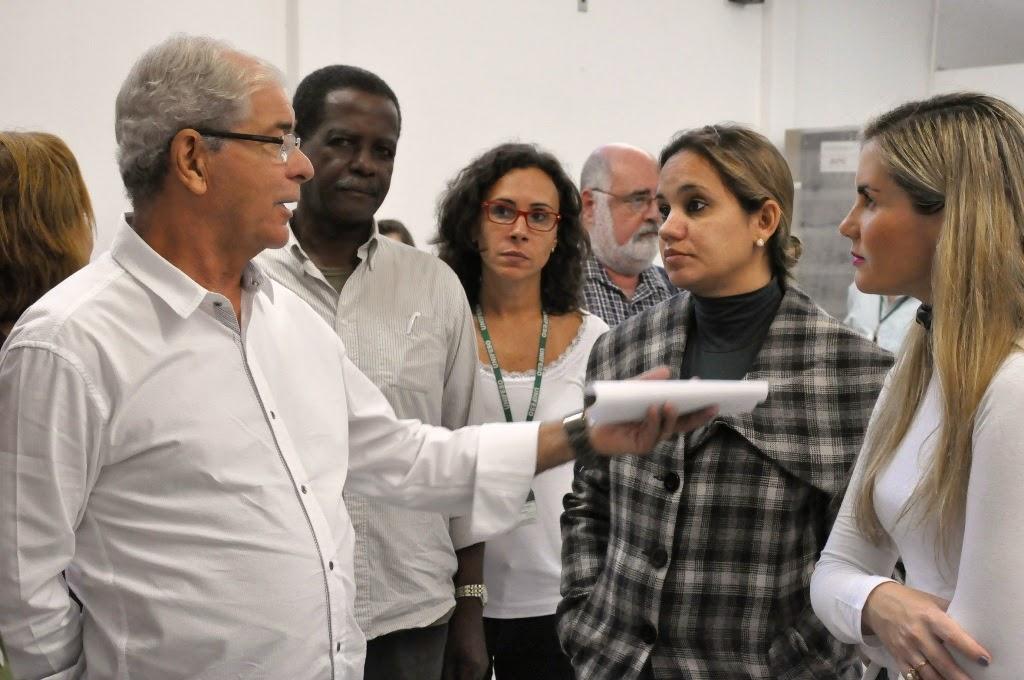 Secretário de Saúde visitou o UNIFESO para receber oficialmente os equipamentos adquiridos pela FESO com recursos oriundos do Contrato de Cogestão do Programa Saúde da Família
