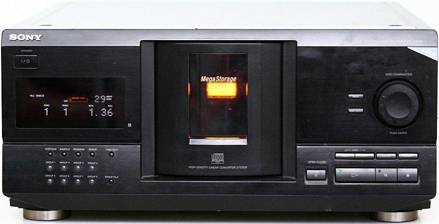 Service manual sony cdp-cx355