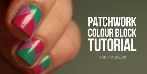 Patchwork Colour Block Tutorial