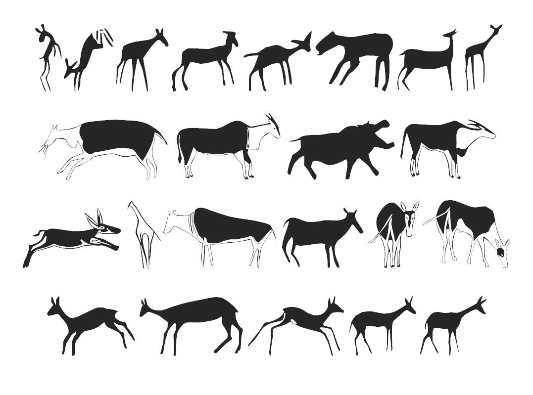 Get symbols rock art animals of africa rock art animals of africa biocorpaavc Image collections