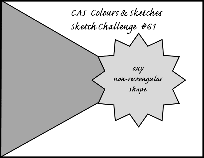 CAS Colours and Sketches Sketh hallenge #61