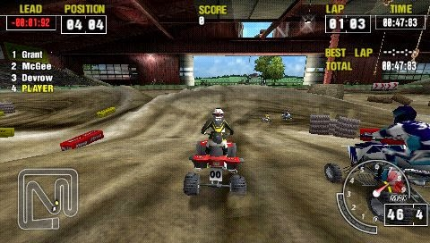 ATV Offroad Fury Pro PSP ISO Screenshoot 1