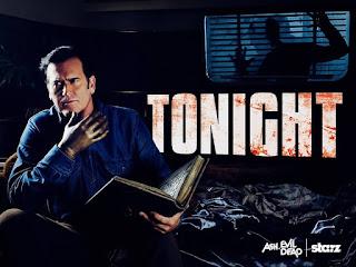 Ash vs Evil Dead starring Bruce Campbell starts tonight on Starz