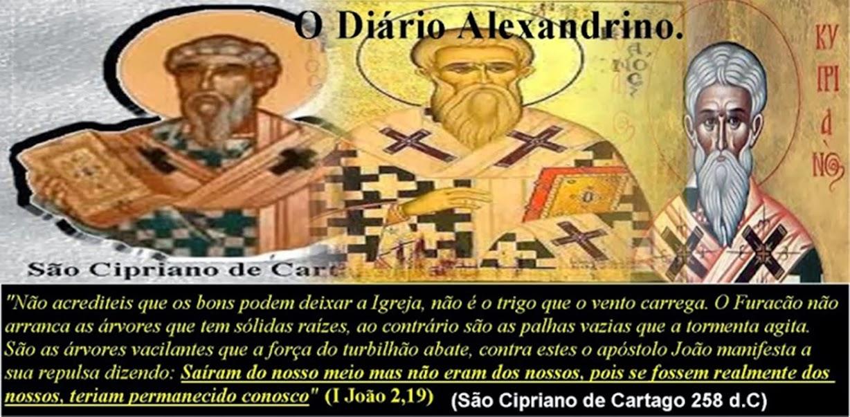O Diário Alexandrino. (Lata do lixo protestante)