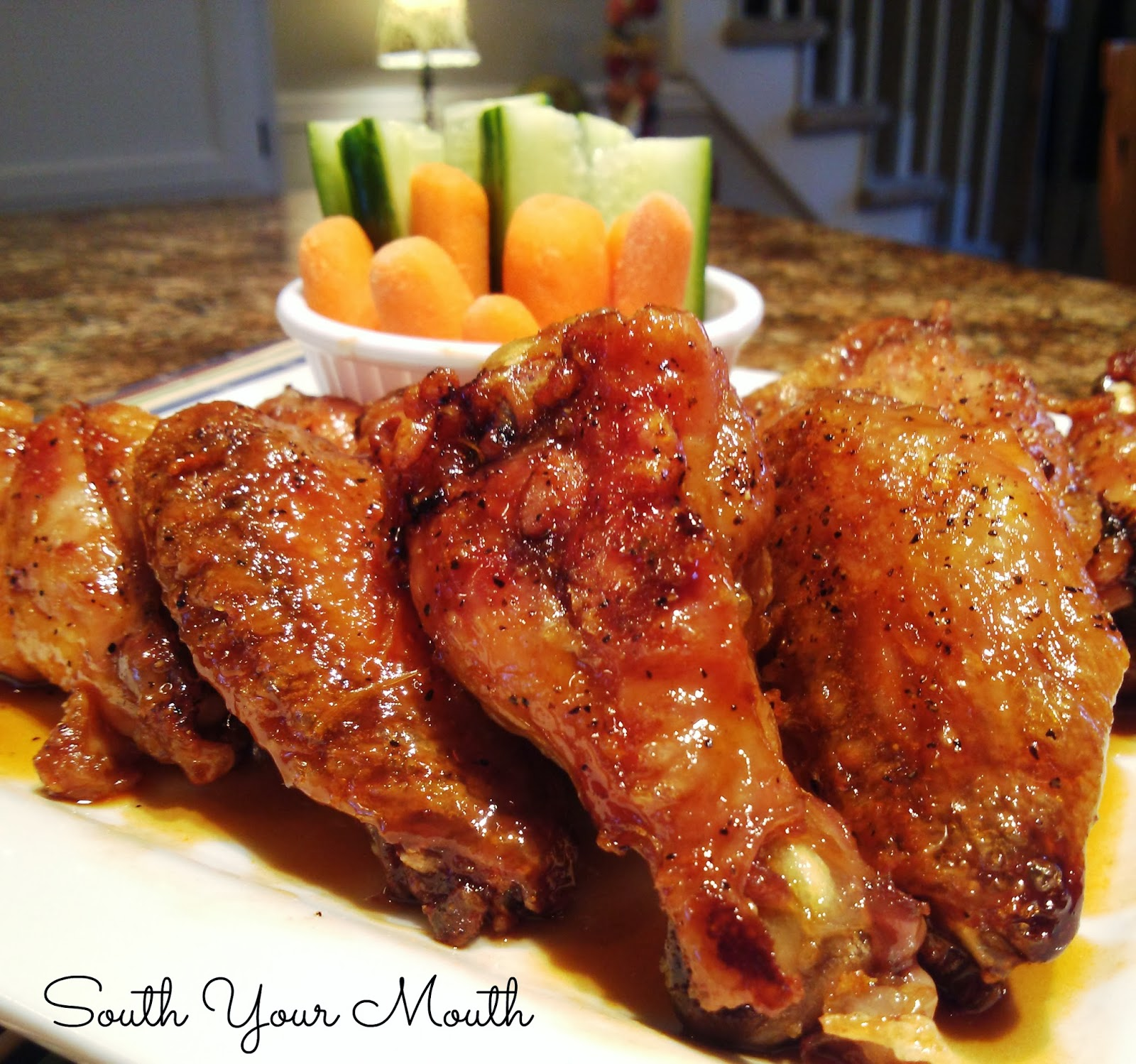 Baked Spicy Chicken Wings Recipe — Dishmaps