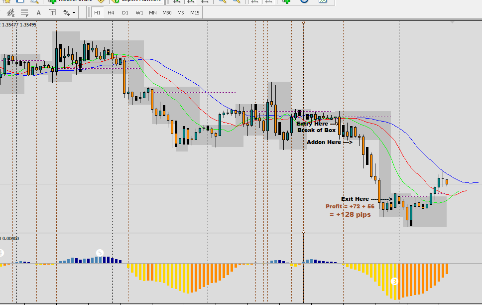 Pip forex example