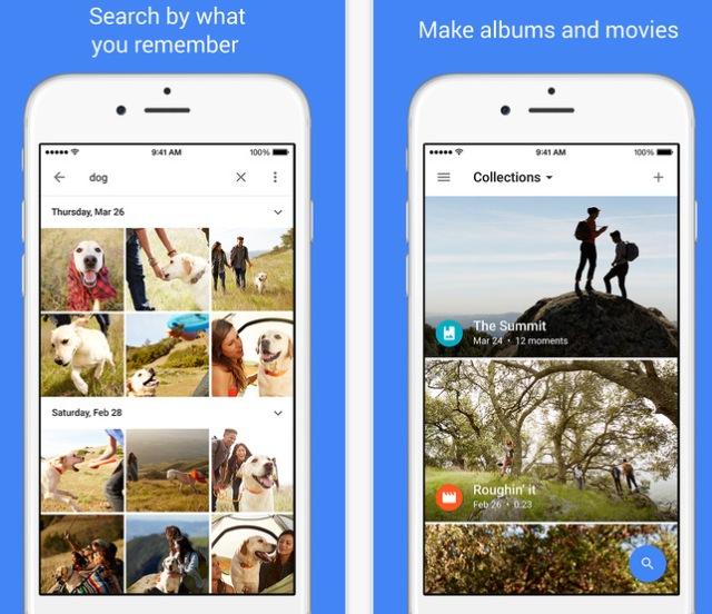 Aplicación Google Fotos obten almacenamiento ilimitado de imágenes y de videos