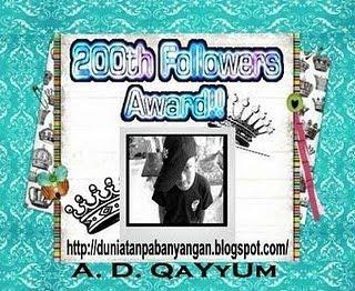 Award Dari Mak Dara