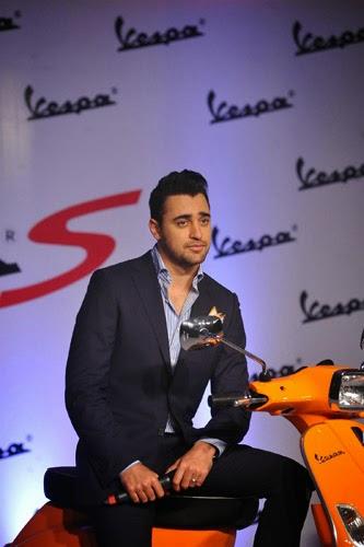 Imran Khan Launch New Vespa Scooter Photos