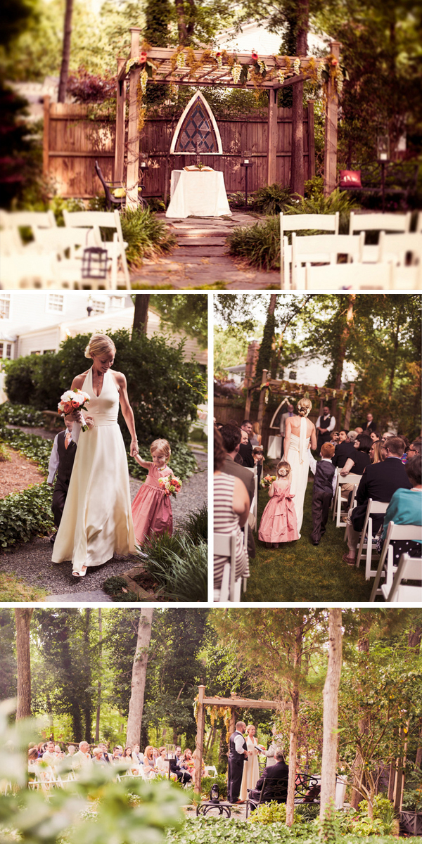 backyard wedding with handmade details | photos by jen yuson