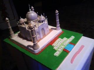 Taj Mahal Cake - Hantaran