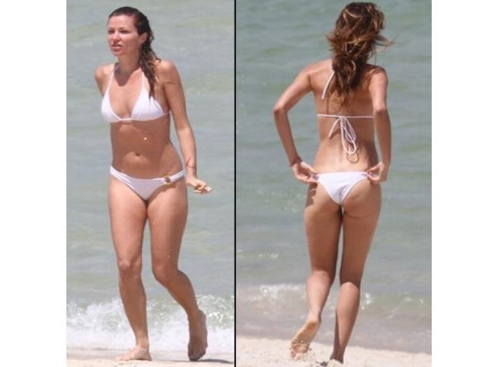 Nem a ex-modelo Ellen Jabour, que sempre foi magra, se safou das ...