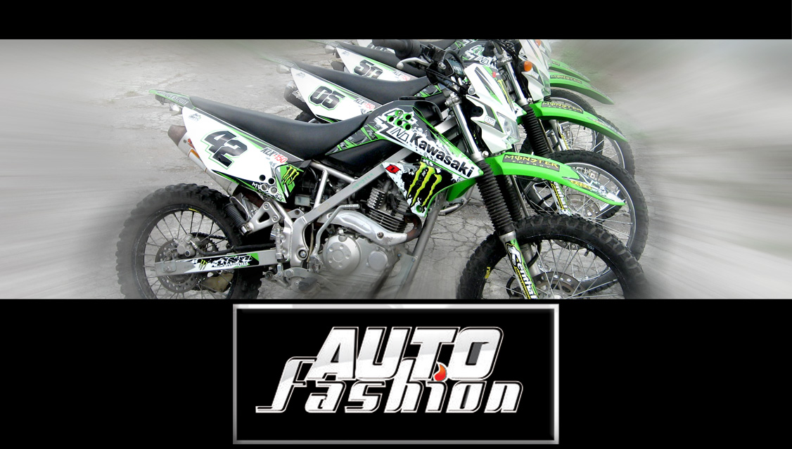 Sticker Custom Klx 150