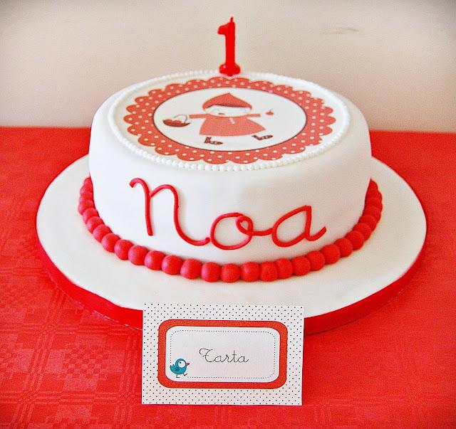 tarta decorada cumpleaños infantil
