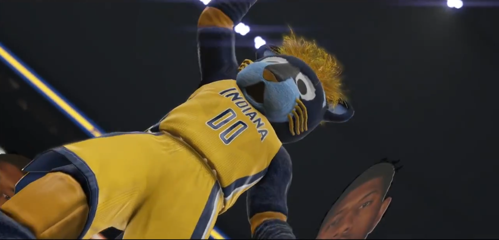 NBA 2K15 'Yakkem' Trailer Gameplay Screenshot - Mascots