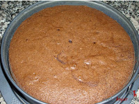 Tarta de chocolate, nata y granadina - Paso 7-1
