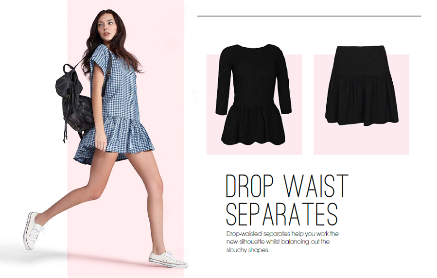 drop waist separates, boohoo, 2014 trends, cute, 2014 autumn, fashion trends