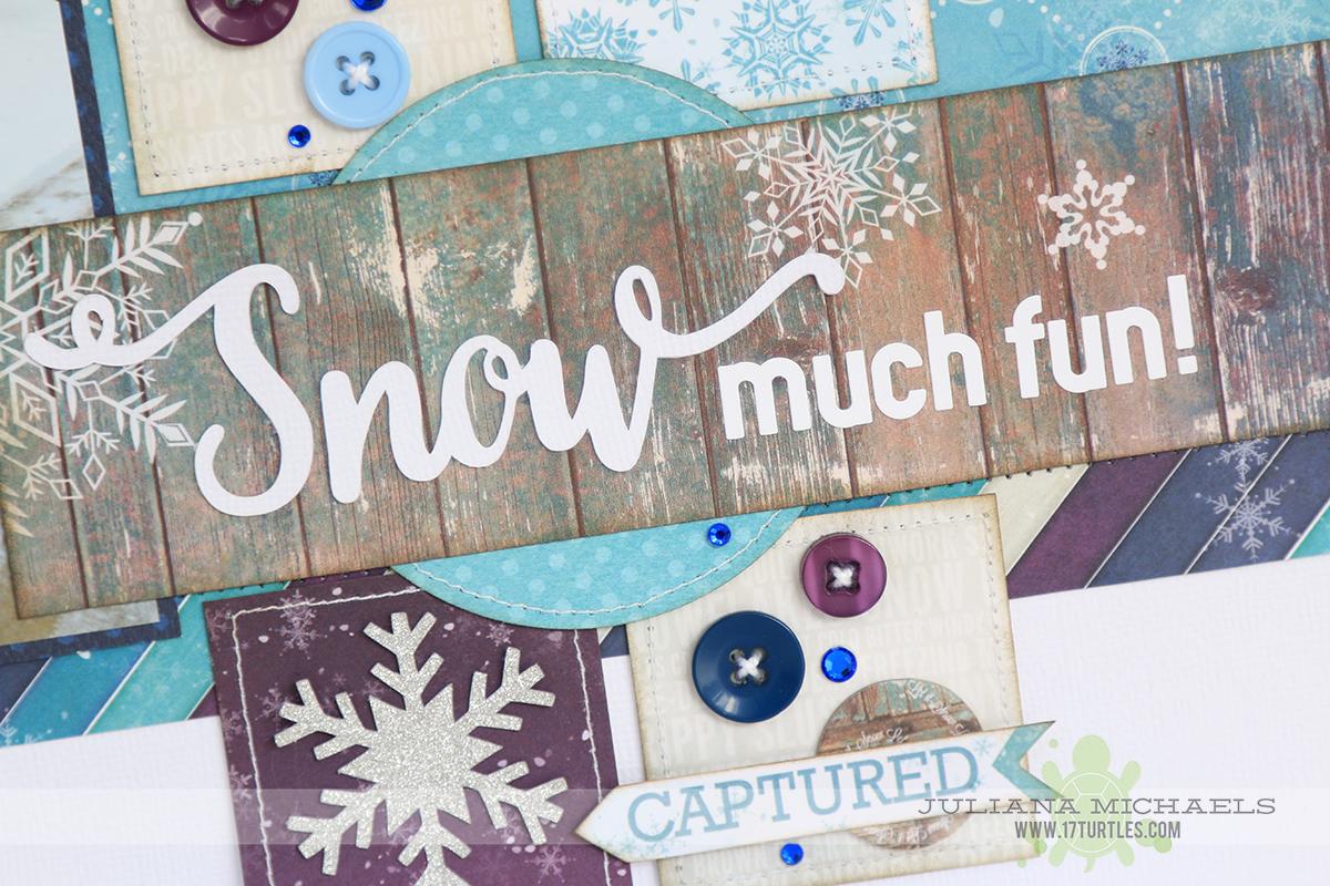 Sneak Peek Scrapbook Page by Juliana Michaels Scrapbook Generation Create January 2015