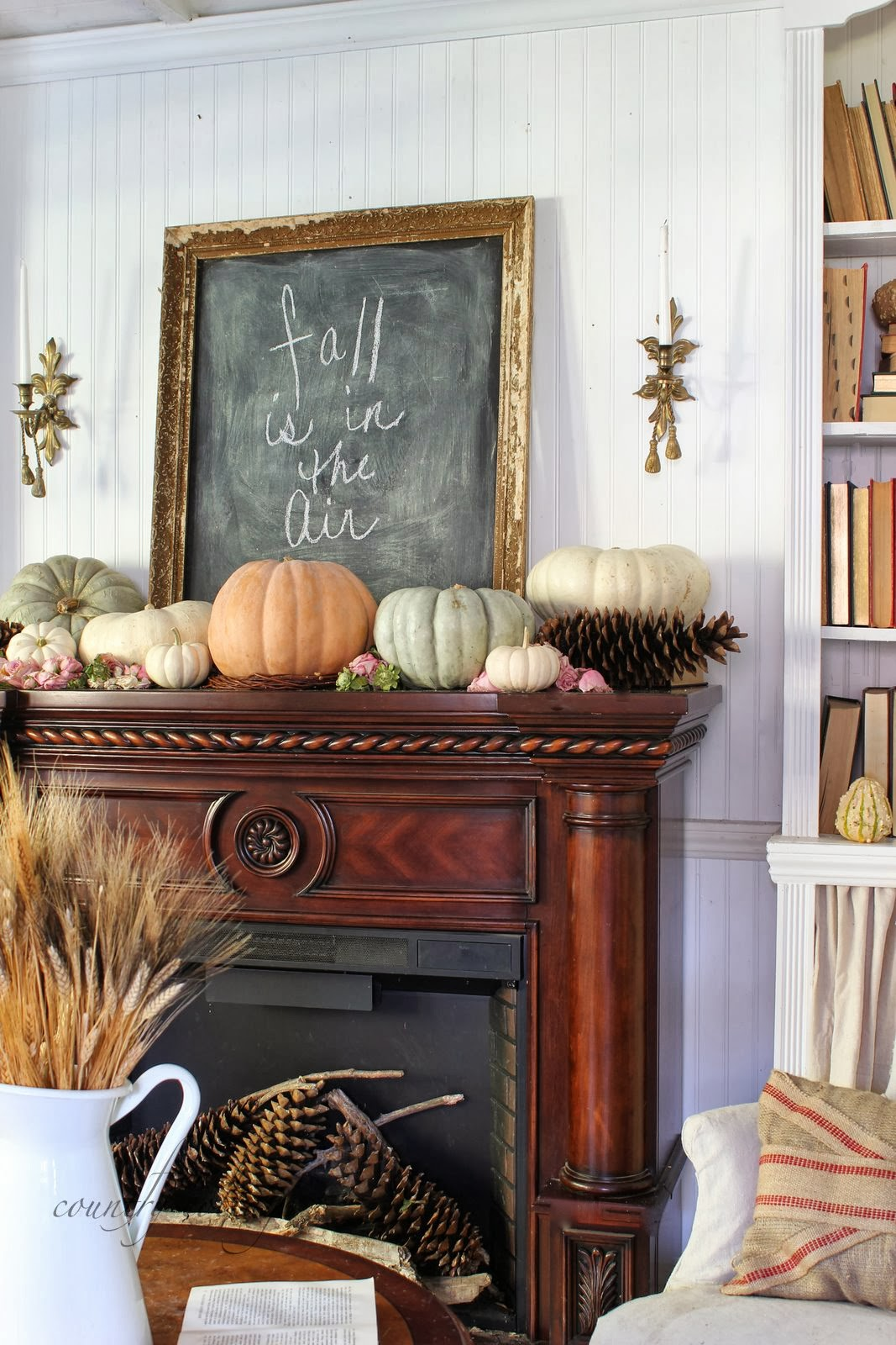 Fall is in the air french country cottage for French country cottages