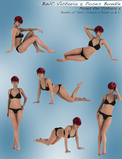 BWC Victoria 5 Poses Bundle
