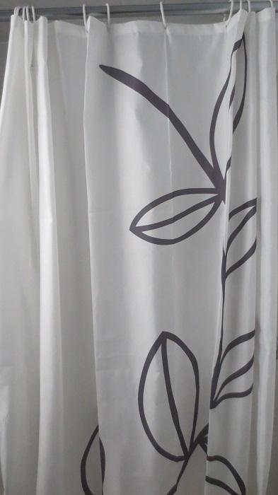 ikea dramselva shower curtain review invertedkb. Black Bedroom Furniture Sets. Home Design Ideas