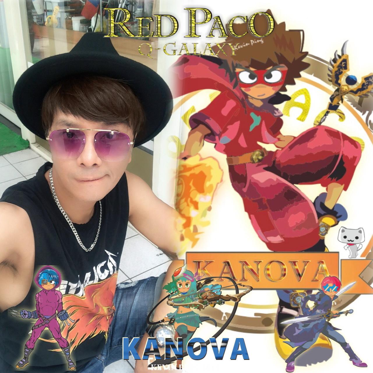 徐瑋 + Red Paco Brother's 帕可兄弟-卡諾瓦星球,科幻冒險故事新經典