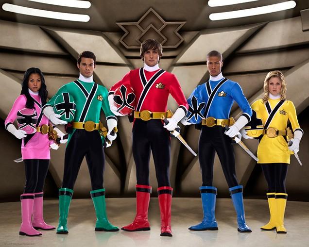 go go power rangers samurai games