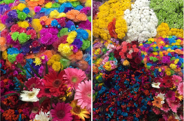Mexico City Flower Market