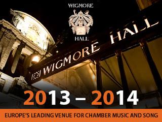 Wigmore Hall, new season, 2013-2014
