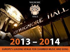 Wigmore Hall, new season, 2013 - 2014