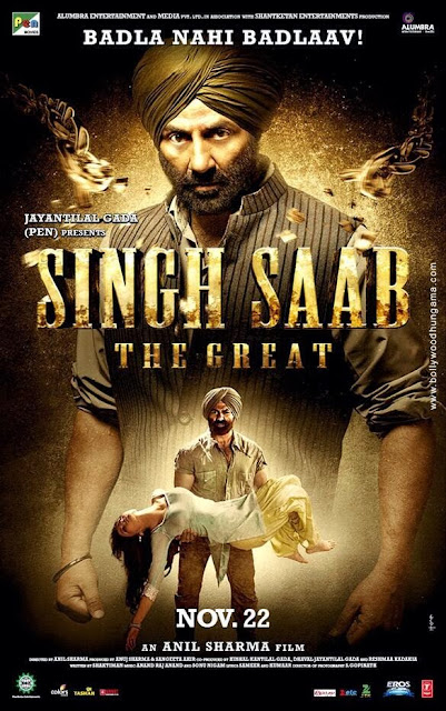 Brand New Poster of Sing Saab The Great Movie